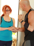Wendy summers  wendy gets a violent workout  wendy gets a workout from a stud. Wendy gets a workout from a stud